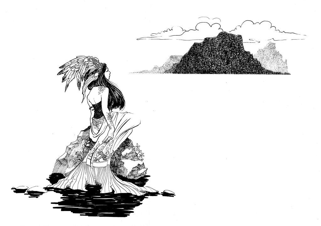 La femme acqueuse